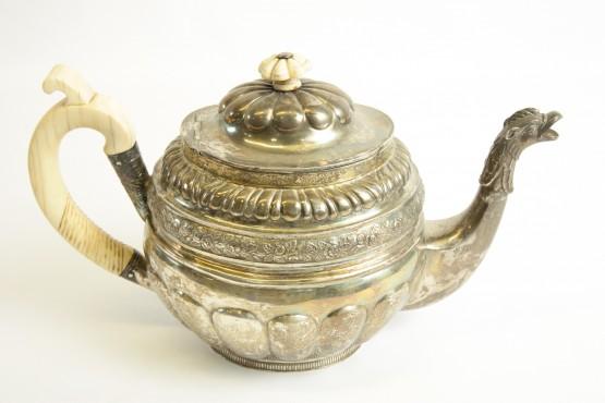 Hopeakahvikannu Venäläinen v.1850
