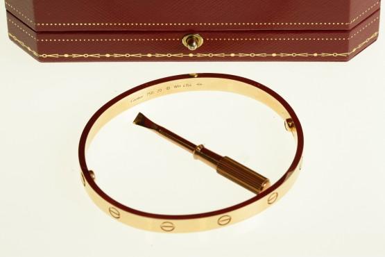 Cartier Love rannerengas