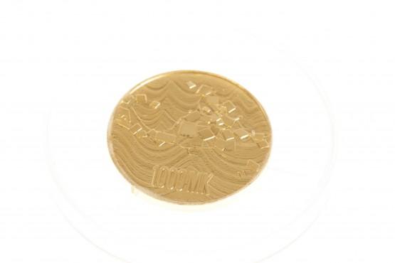 1000mk kultaa 9.0gr 900